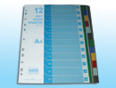 Separator With index - set of 12 Size - A4